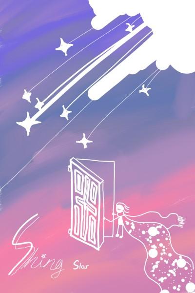빛나는 별 Shing Star | LittleMermaid | Digital Drawing | PENUP