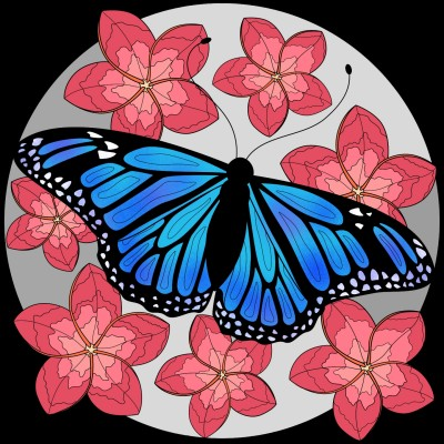 butterfly | GlitterSparkles | Digital Drawing | PENUP