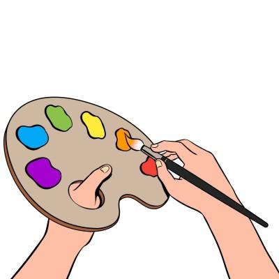 모나리자를 그리는 옥규의 손 | rbqls0411 | Digital Drawing | PENUP