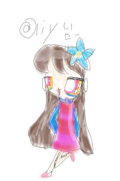 @ljy님 팬아트   Bunny   Digital Drawing   PENUP