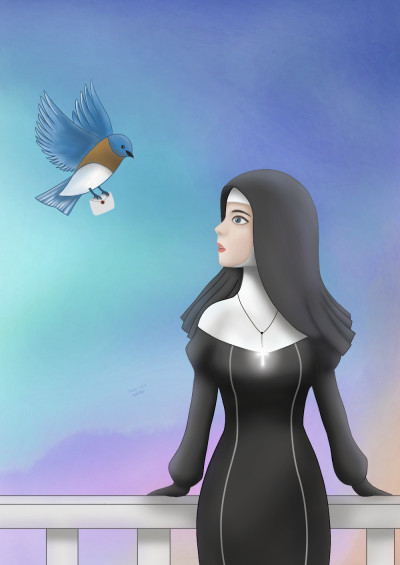 Blue bird | Cong.gee | Digital Drawing | PENUP