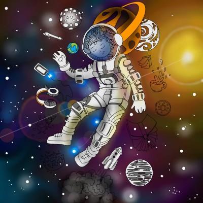 universo  | ramdan1111 | Digital Drawing | PENUP