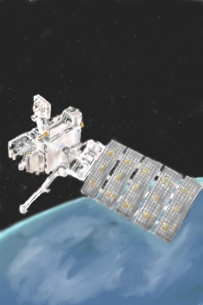 Goes 16 Geostationary satellite  | joyed | Digital Drawing | PENUP