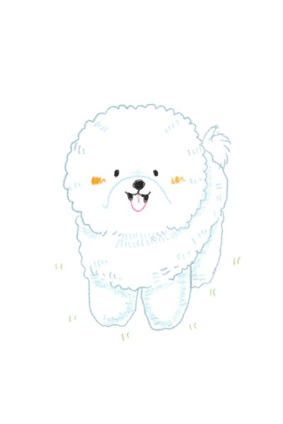 A cute dog | Peopleperson | Digital Drawing | PENUP