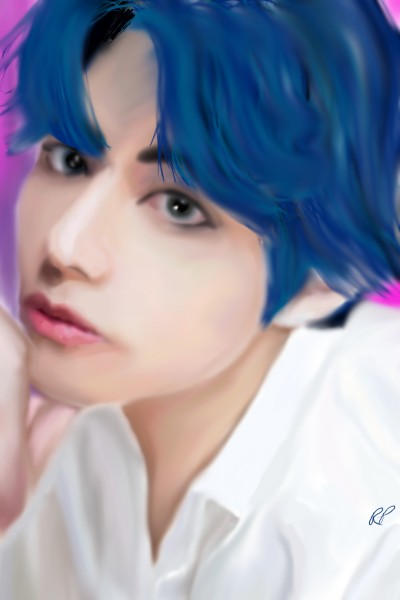 V (Kim Tae-hyung) BTS | Rebecca | Digital Drawing | PENUP