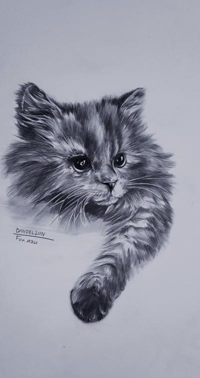 For. my friend @azu  | -DANDELION- | Digital Drawing | PENUP