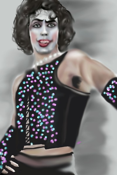 Frank-N-Furter (Rocky horror picture show) | Rebecca | Digital Drawing | PENUP