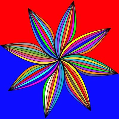 Pin Wheel Of Color   Bekkie   Digital Drawing   PENUP