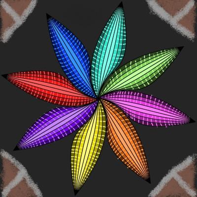 Flower | Ujjwal | Digital Drawing | PENUP