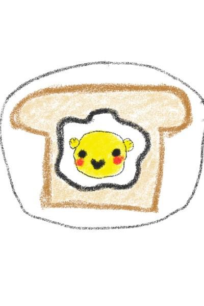 its a breakfast  | pinkdino | Digital Drawing | PENUP