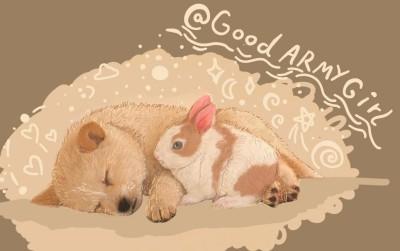 who can sleep like you?! (♡u♡)   Good_ARMY_Girl   Digital Drawing   PENUP