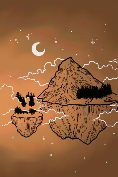 Brown mountan | G.A. | Digital Drawing | PENUP