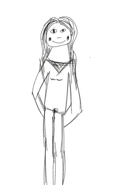 girl is happy | Stella | Digital Drawing | PENUP