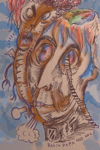 Face time : Brown Smile   RobinPAPA   Digital Drawing   PENUP