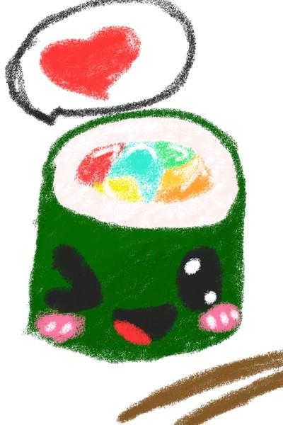 Little sushi | pinkdino | Digital Drawing | PENUP