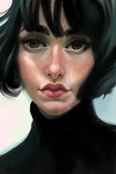Portrait Study | LunarAura | Digital Drawing | PENUP