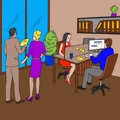 Office Gathering   cptpebkac   Digital Drawing   PENUP