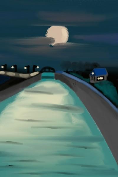 night river   revkaa_   Digital Drawing   PENUP