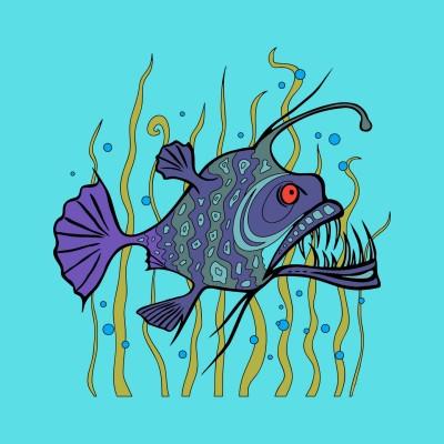 Fish piranha... | Alexs | Digital Drawing | PENUP
