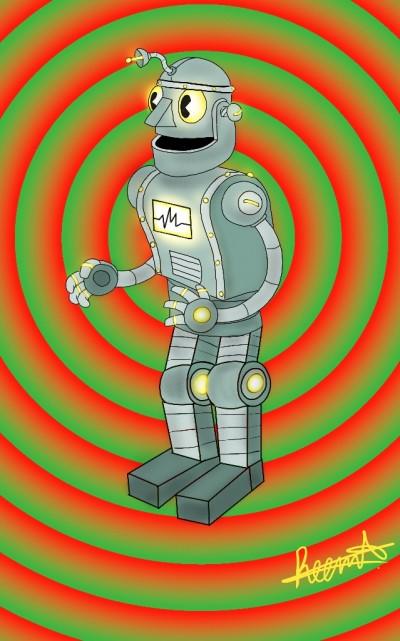 Robot  | Reema21 | Digital Drawing | PENUP