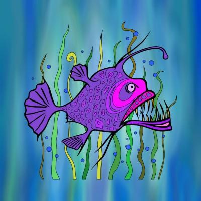 ماهی | Sipili | Digital Drawing | PENUP