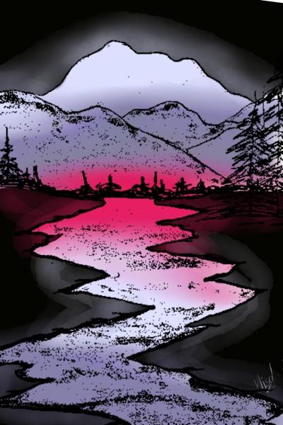 River:) | MISAKI-CHAN | Digital Drawing | PENUP