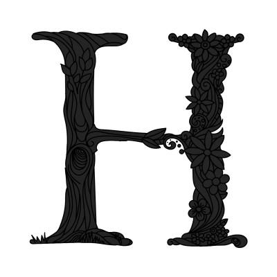 H | Peopleperson | Digital Drawing | PENUP