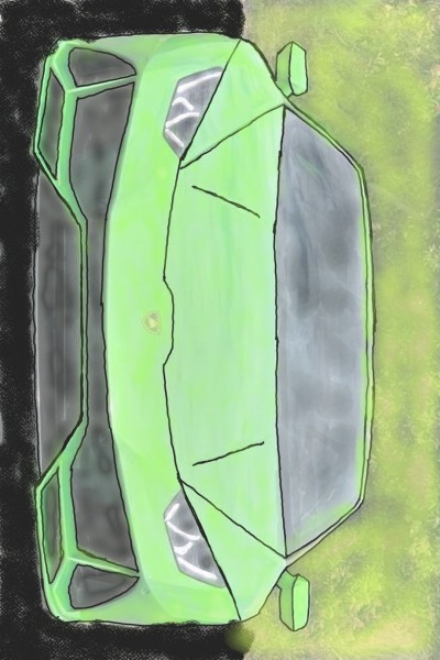 Lamborghini Huracan  | RahmanKibria | Digital Drawing | PENUP