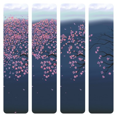 April when the cherry blossoms fall | Dex.R | Digital Drawing | PENUP