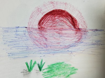 river | park | Digital Drawing | PENUP