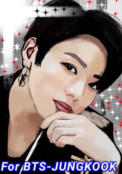 For BTS-JUNGKOOK ⭐❤️ | IREM.Aksoy | Digital Drawing | PENUP