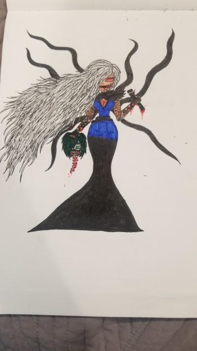 Kira Akunone UNHINGED  | KiraMoxley | Digital Drawing | PENUP