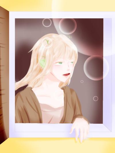 저는 다시는 배경을 그리지 않기로 했어요 | SILVER_BIN | Digital Drawing | PENUP