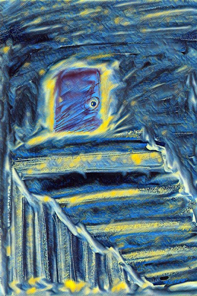 the hidden staircase    polorbearcub   Digital Drawing   PENUP