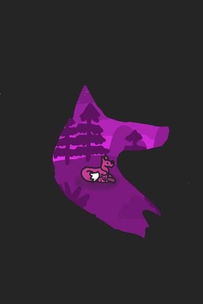 fox   wolf_Queen   Digital Drawing   PENUP