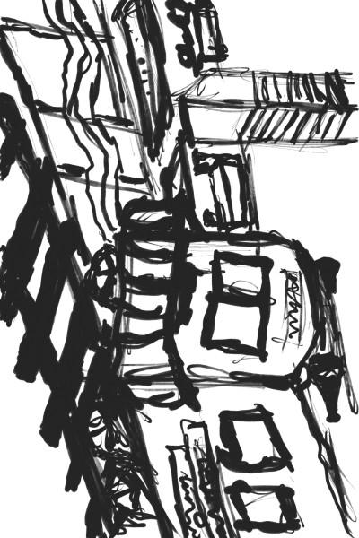 Nobody waiting the metro   Kenth.00   Digital Drawing   PENUP
