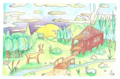 Peace moumtain by nikolass  | nikolass83 | Digital Drawing | PENUP