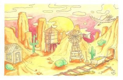 Wild desert by nikolass  | nikolass83 | Digital Drawing | PENUP