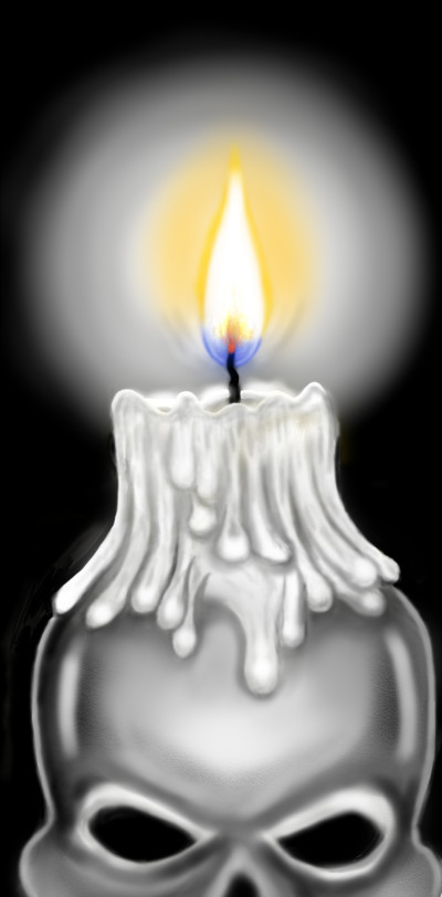 Scary Candle | Terry627 | Digital Drawing | PENUP