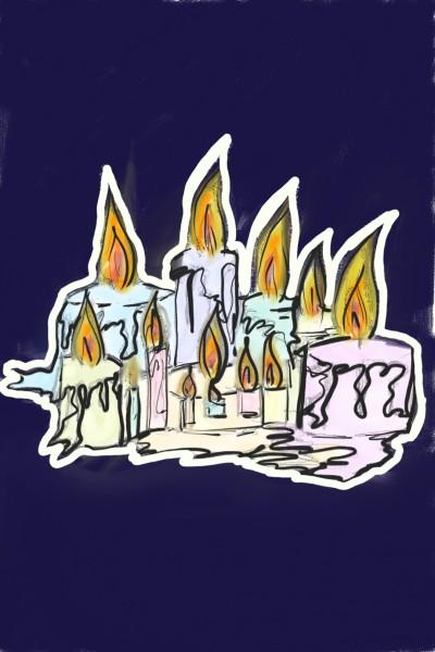 Burning pastels   psyduck   Digital Drawing   PENUP
