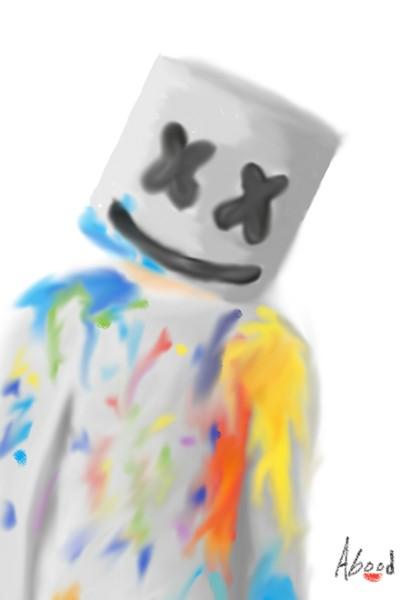 hi Marshmallow  | MK-Abood1 | Digital Drawing | PENUP