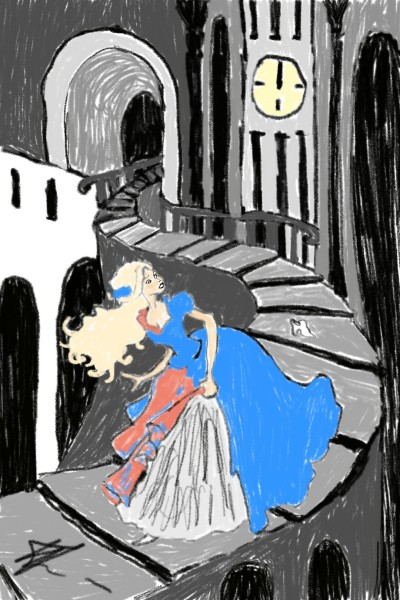 Run, Cinderella, run! | Natasha | Digital Drawing | PENUP