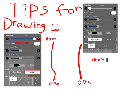 tips for stabilizing | XxGreen_teaxX | Digital Drawing | PENUP