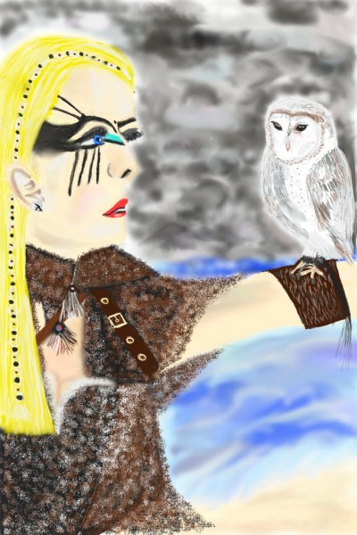 To Valhalla  | Nessarocks09 | Digital Drawing | PENUP