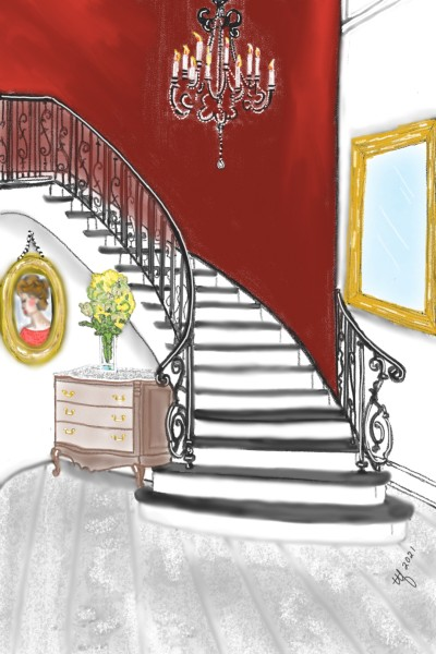 Staircases | TeeTee | Digital Drawing | PENUP