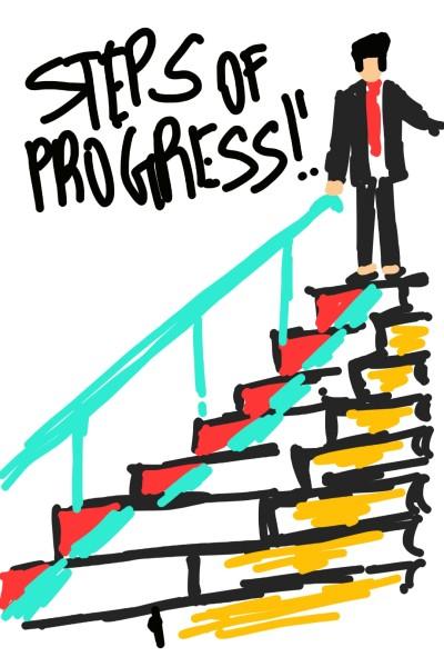 step of progress  | deepakdigarse | Digital Drawing | PENUP