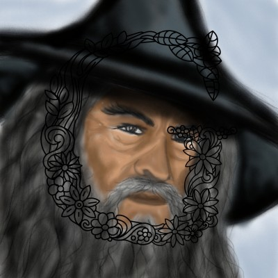 Gandalf  | mjalkan | Digital Drawing | PENUP