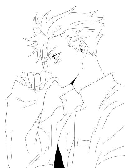 kuroo sketch | DigiArt | Digital Drawing | PENUP