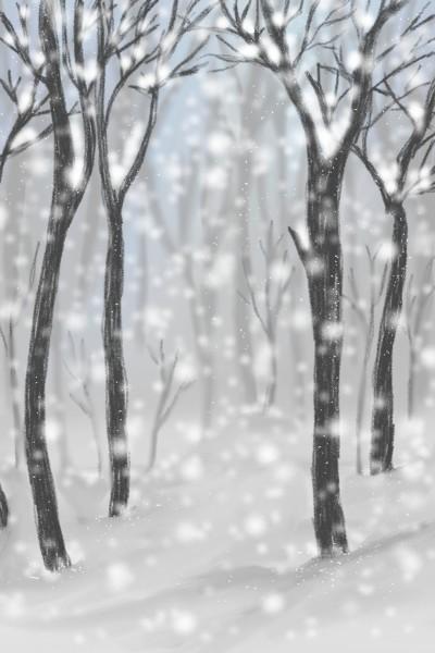눈오는날 | songyi | Digital Drawing | PENUP