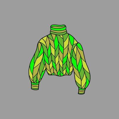 baju daun   hilmiy   Digital Drawing   PENUP